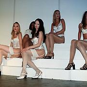 Miss Lingerie Nederland 1999 Amsterdam, dames op de catwalk