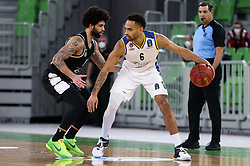 Michineau  David of Boulogne Metropolitans 92 during basketball match between KK Partizan NIS Belgrade (SRB) and Boulogne Metropolitans 92 (FRA) in Top 16 Round 6 of 7DAYS Eurocup 2020/21, on March 10, 2021 in Arena Stozice, Ljubljana, Slovenia. Photo by Vid Ponikvar / Sportida