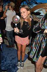 DAISY JENKS at a party to celebrate the launch of Baar & Bass, 336 Kings Road, London on 9th September 2014.
