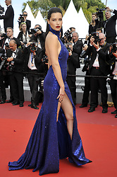 May 22, 2019 - Cannes, France - Adriana Lima 'The Gangster, The Cop, The Devil' Premiere at 72nd Cannes Film Festival. (Credit Image: © Camilla Morandi/IPA via ZUMA Press)