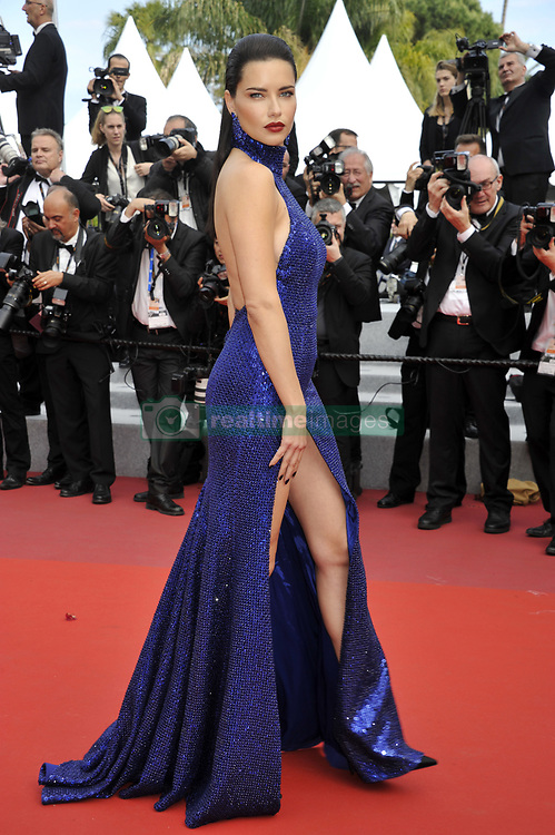 May 22, 2019 - Cannes, France - Adriana Lima 'The Gangster, The Cop, The Devil' Premiere at 72nd Cannes Film Festival. (Credit Image: © Camilla Morandi/IPA via ZUMA Press)