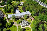 Nederland, Gelderland, Arnhem, 09-06-2016; Koninklijk Tehuis voor Oud-Militairen en Museum Bronbeek.<br /> Royal Home for Veterans (former soldiers) and Bronbeek Museum. <br /> luchtfoto (toeslag op standard tarieven);<br /> aerial photo (additional fee required);<br /> copyright foto/photo Siebe Swart