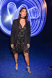 Dua Lipa at the Warner Music & Ciroc Brit Awards party, Freemasons Hall, 60 Great Queen Street, London England. 22 February 2017.