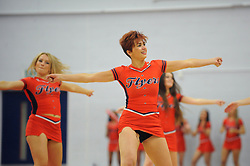 Bristol Flyers cheer leaders  - Photo mandatory by-line: Dougie Allward/JMP - Mobile: 07966 386802 - 18/10/2014 - SPORT - Basketball - Bristol - SGS Wise Campus - Bristol Flyers v Durham Wildcats - British Basketball League