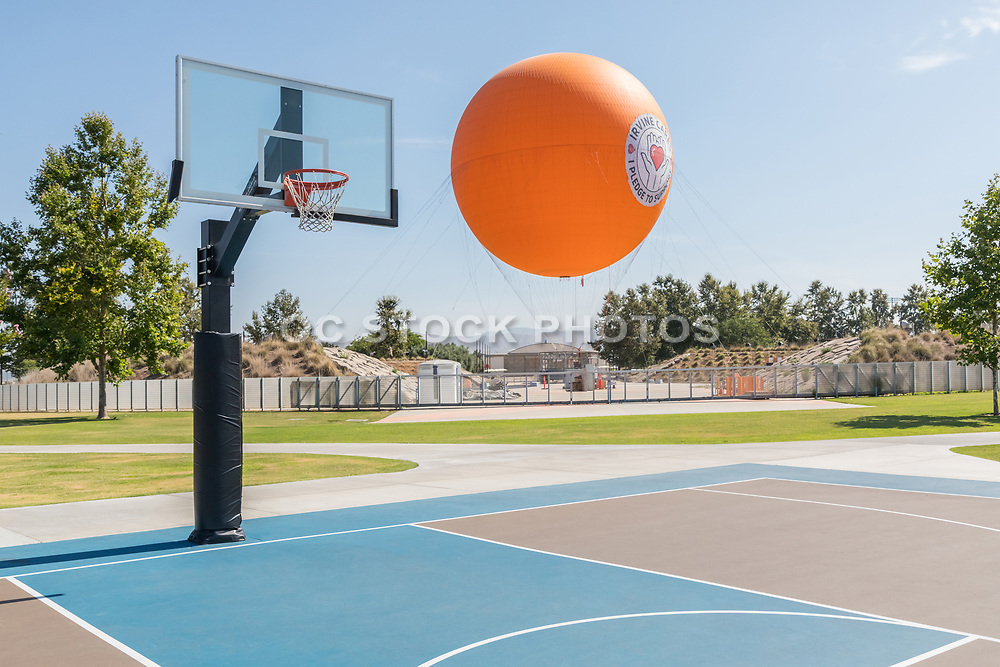 Basketball Court at OC Great Park