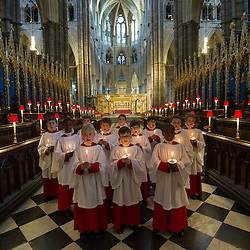 Mcc0051674.DT News.Westminster Abbey.Pic Shows Choir boys from Westminster Abbey rehearsing ahead of the Christmas events