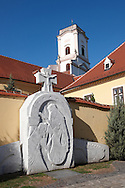 Sculpture outside Bishop's Palace - ( Gy?r )  Gyor Hungary