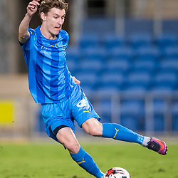 BRISBANE, AUSTRALIA - SEPTEMBER 20: Matthew Schmidt of Gold Coast City in action during the Westfield FFA Cup Quarter Final match between Gold Coast City and South Melbourne on September 20, 2017 in Brisbane, Australia. (Photo by Gold Coast City FC / Patrick Kearney)