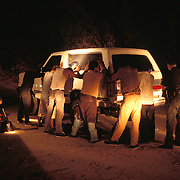 Undocumented immigrants arrested by US Border Patrol in Yuma, Arizona. Please contact Todd Bigelow directly with your licensing requests. PLEASE CONTACT TODD BIGELOW DIRECTLY WITH YOUR LICENSING REQUEST. THANK YOU!