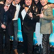NLD/Amsterdam//20140331 - Uitreiking Edison Pop 2014, Blof en Frans Duijts