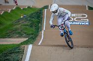 #99 (YAMAGUCHI Daichi) JPN at Round 2 of the 2020 UCI BMX Supercross World Cup in Shepparton, Australia.