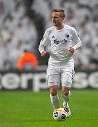 Pierre Bengtsson (FC København) under kampen i UEFA Europa League mellem FC København og Malmö FF den 12. december 2019 i Telia Parken (Foto: Claus Birch).