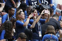 France's wags and family to identify during the 2018 FIFA World Cup Russia game, France vs Denmark in Luznhiki Stadium, Moscow, Russia on June 26, 2018. France and Denmark drew 0-0. Photo by Henri Szwarc/ABACAPRESS.COM