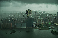 Thunderstorms over Macau