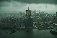 Thunderstorms over Macau