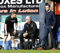 Luton Town manager Nathan Jones  looks on from the touchline<br /> <br /> Photographer David Shipman/CameraSport<br /> <br /> The EFL Sky Bet League Two - Luton Town v Blackpool - Saturday 1st April 2017 - Kenilworth Road - Luton<br /> <br /> World Copyright © 2017 CameraSport. All rights reserved. 43 Linden Ave. Countesthorpe. Leicester. England. LE8 5PG - Tel: +44 (0) 116 277 4147 - admin@camerasport.com - www.camerasport.com