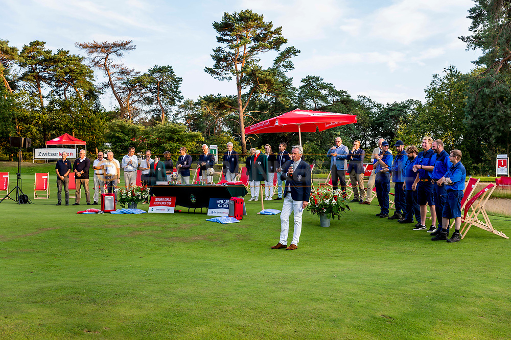 20-07-2019 Pictures of the final day of the Zwitserleven Dutch Junior Open at the Toxandria Golf Club in The Netherlands.<br /> Price giving ceremony