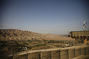 Watchtowers (Augen) at german Observation Point North, Northern Afghanistan
