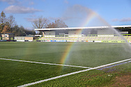 The New Lawn, home of Forest Green Rovers during the Vanarama National League match between Forest Green Rovers and Aldershot Town at the New Lawn, Forest Green, United Kingdom on 5 November 2016. Photo by Shane Healey.