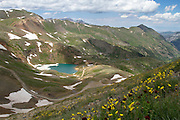 """Lake Como at 12,215 ft (3723 m) in northern San Juan County, in the Uncompahgre National Forest in the northwestern San Juan Mountains, Colorado. <br /> <br /> 18"""" x 12""""<br /> <br /> See Pricing page for more information.<br /> <br /> Please contact me for custom sizes and print options including canvas wraps, metal prints, assorted paper options, etc. <br /> <br /> I enjoy working with buyers to help them with all their home and commercial wall art needs."""