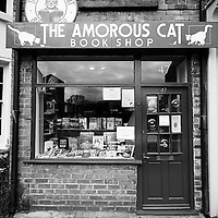 Located on Lark Lane the Amorous Cat bookshop is a really lovely looking bookshop.  Annoyingly closed on the one day I picked to photograph it though.