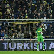 Eskisehirspor's goalkeeper Vanja IVESA during their Turkish superleague soccer derby match Fenerbahce between Eskisehirspor at Sukru Saracaoglu stadium in Istanbul Turkey on Saturday 19 November 2011. Photo by TURKPIX
