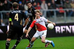 08-11-2009 VOETBAL: FC UTRECHT - HEERENVEEN: UTRECHT<br /> Utrecht verliest met 3-2 van Heerenveen / Kevin Vandenbergh<br /> ©2009-WWW.FOTOHOOGENDOORN.NL