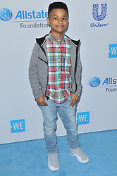 Demarjay Smith arrives at We Day California 2017 held at The Forum in Inglewood, CA on Thursday, April 27, 2017. (Photo By Sthanlee B. Mirador) *** Please Use Credit from Credit Field ***