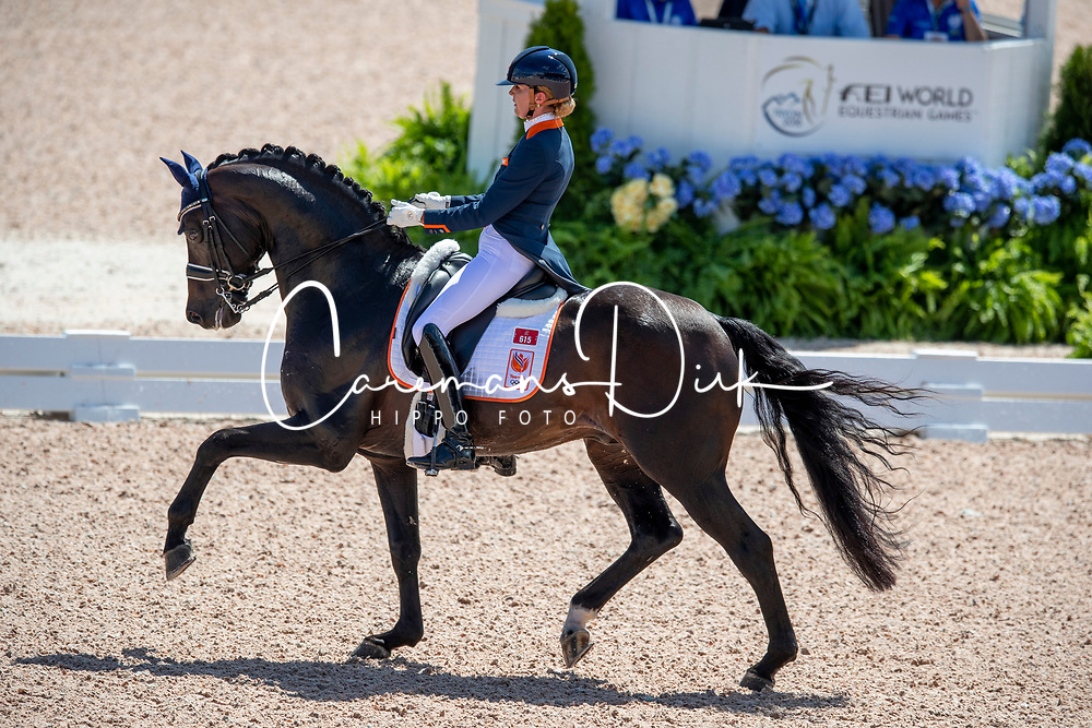 Scholtens Emmelie, NED, Apache<br /> World Equestrian Games - Tryon 2018<br /> © Hippo Foto - Dirk Caremans<br /> 13/09/18