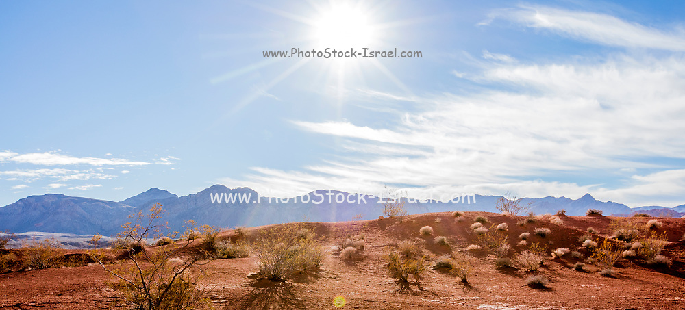 Panorama of Valley of Fire State Park, Nevada