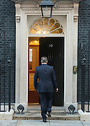 © Licensed to London News Pictures. 19/09/2014. Westminster, UK The Prime Minister David Cameron makes a statement on Downing Street today 19th September 2014 on the morning Scotland voted to stay part of Great Britain after referendum results were counted overnight. Photo credit : Stephen Simpson/LNP