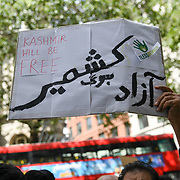 Hundreds Kashmiris protest India terrorists and Indian army occupation revoke article 370 and 35A. The same language Israel apartheid in Palestine outside India Embassy London, The entire world suffering, chaos and bloodshed is the creation of the west Pro-Demon-cracy, human rights and Freedom on the expenses of nonwhite people and nation on 20 August 2019, UK.