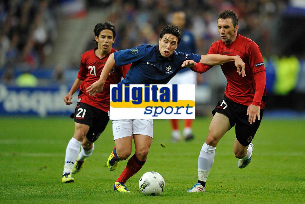 FOOTBALL - UEFA EURO 2012 - QUALIFYING - GROUP D - FRANCE v ALBANIA - 7/10/2011 - PHOTO GUY JEFFROY / DPPI - SAMIR NASRI (FRA)