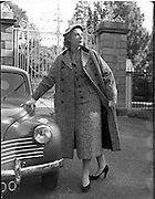 30/09/1955.09/30/1955.30 September 1955.Colette Modes Fashions at Phoenix Park, Dublin. Special for Janus Ltd.