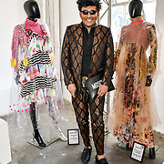 Raghav Tibrewal attend Liverpool John Moores University showcases at Graduate Fashion Week 2019, London, UK