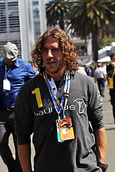 Carles Puyol (ESP) Retired Football Player, guest of the Sahara Force India F1 Team.<br /> 29.10.2016. Formula 1 World Championship, Rd 19, Mexican Grand Prix, Mexico City, Mexico, Qualifying Day.<br /> Copyright: Photo4 / XPB Images / action press