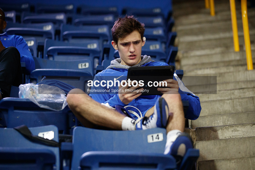 2018 January 01: Josh Finesilver of Duke Blue Devils wrestling on Monday, January, 1, 2018 during the Southern Scuffle at McKenzie Arena in Chattanooga, TN.