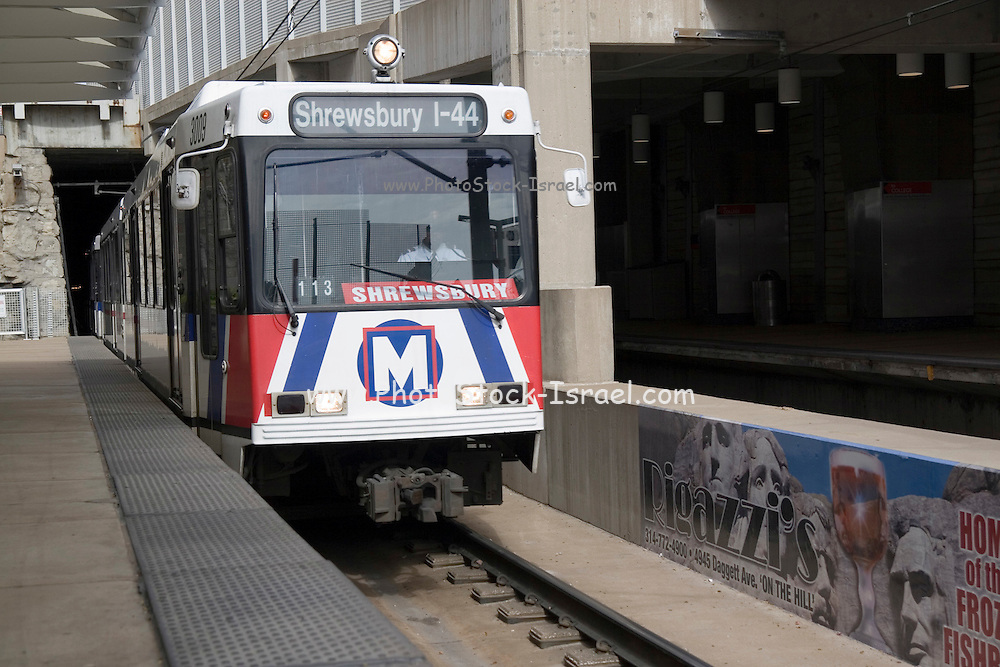 St. Louis Missouri MO USA, Metra train, October 2006