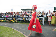 30/07/2015 Repro free  Cork native, Alex Butler  from Ballyedmond, Midleton, Co .Cork has scooped the coveted title of Kilkenny Best Dressed Lady at the 2015 Galway Races Ladies Day, this year sponsored by the Kilkenny Group. photo:Andrew Downes