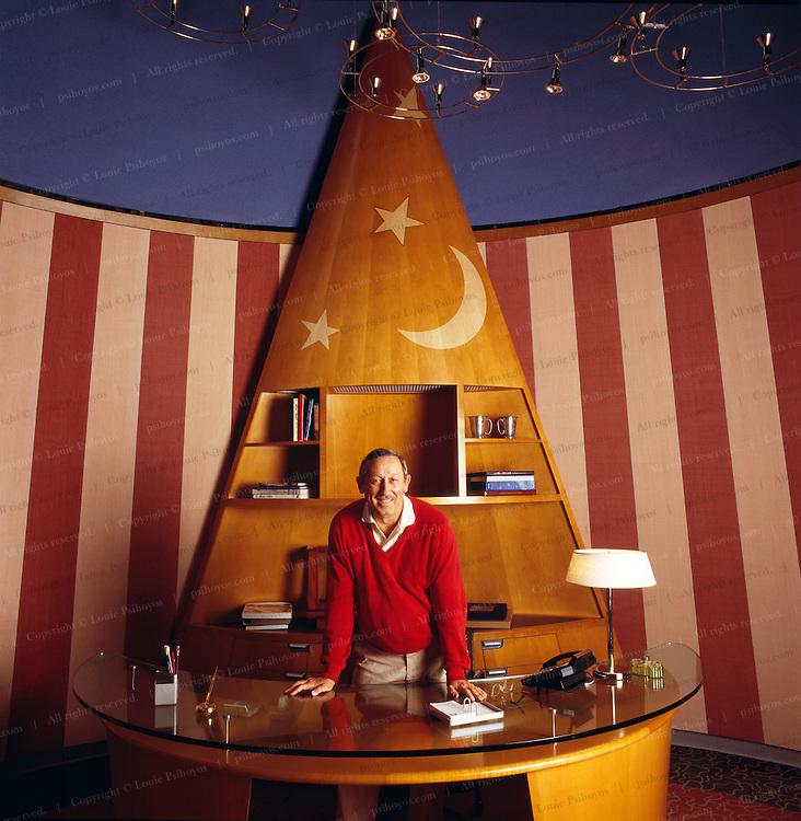 Roy Disney, Vice Chairman, The Walt Disney Company and Chairman Walt Disney Feature Animation at Corporate Headquarters in Burbank, California.<br /> Roy Disney, Vice Chairman, The Walt Disney Company and Chairman Walt Disney Feature Animation the Imagineering Building in Burbank, California.