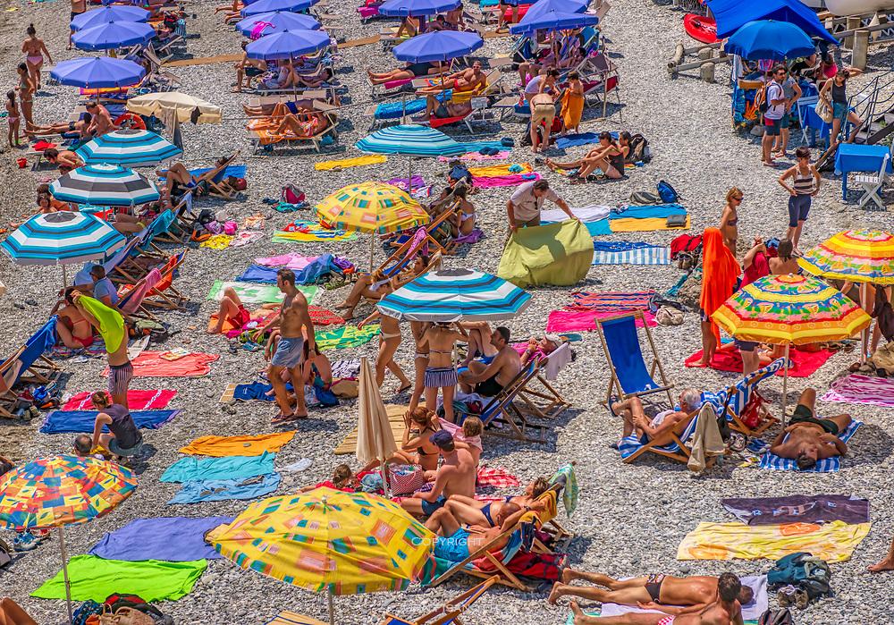 Mediterranean Beach, San Fruttuoso, Italy