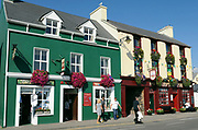 A pub scene on the street of Dingle, County Kerry, Ireland.<br /> Picture by Don MacMonagle