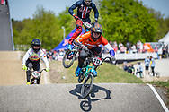 #313 (KIMMANN Niek) NED during practice of Round 3 at the 2018 UCI BMX Superscross World Cup in Papendal, The Netherlands