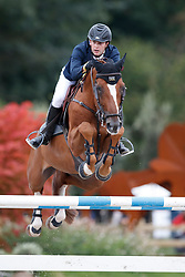 Hutton Samuel, GBR, Happydam<br /> De Kraal International -Zandhoven 2018<br /> © Hippo Foto - Dirk Caremans<br /> 26/08/2018