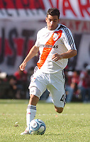 River Plate (0) Vs BOCA Jrs. (1) in the Argentine First Division derby soccer match at Monumental stadium in Buenos Aires, Argentina. October 19, 2008<br /> Here RIVER PLATE PAULO FERRARI<br /> © / PikoPress
