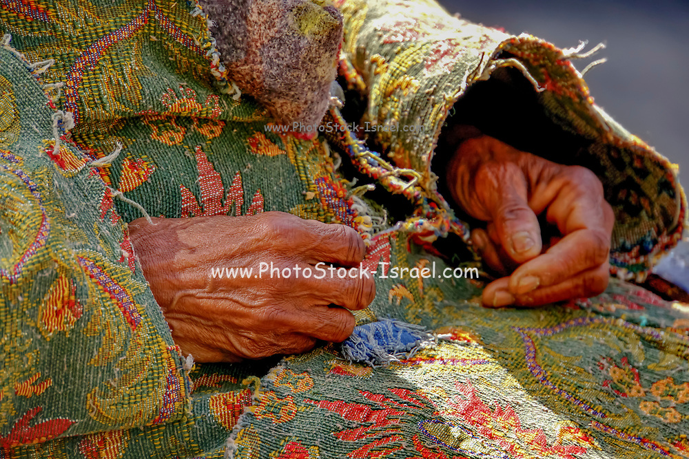 Hands of a Mature woman
