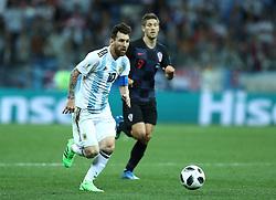 June 21, 2018 - Nizhny Novgorod, Russia - Group D Argentina v Croazia - FIFA World Cup Russia 2018.Lionel Messi (Argentina) in action at Nizhny Novgorod Stadium, Russia on June 21, 2018. (Credit Image: © Matteo Ciambelli/NurPhoto via ZUMA Press)