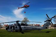 Policyjny śmigłowiec UH-60 Black Hawk
