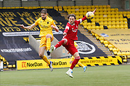 Aberdeen's Fraser Hornby (7) during the Scottish Premiership match between Livingston and Aberdeen at Tony Macaroni Arena, Livingstone, Scotland on 1 May 2021.