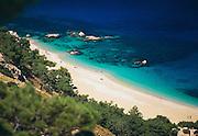 Greece, Dodecanese Islands, Beach of the Island of Karpathos.